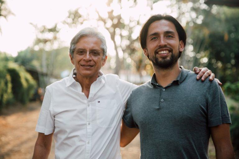 Alberto and Friso at Sonora