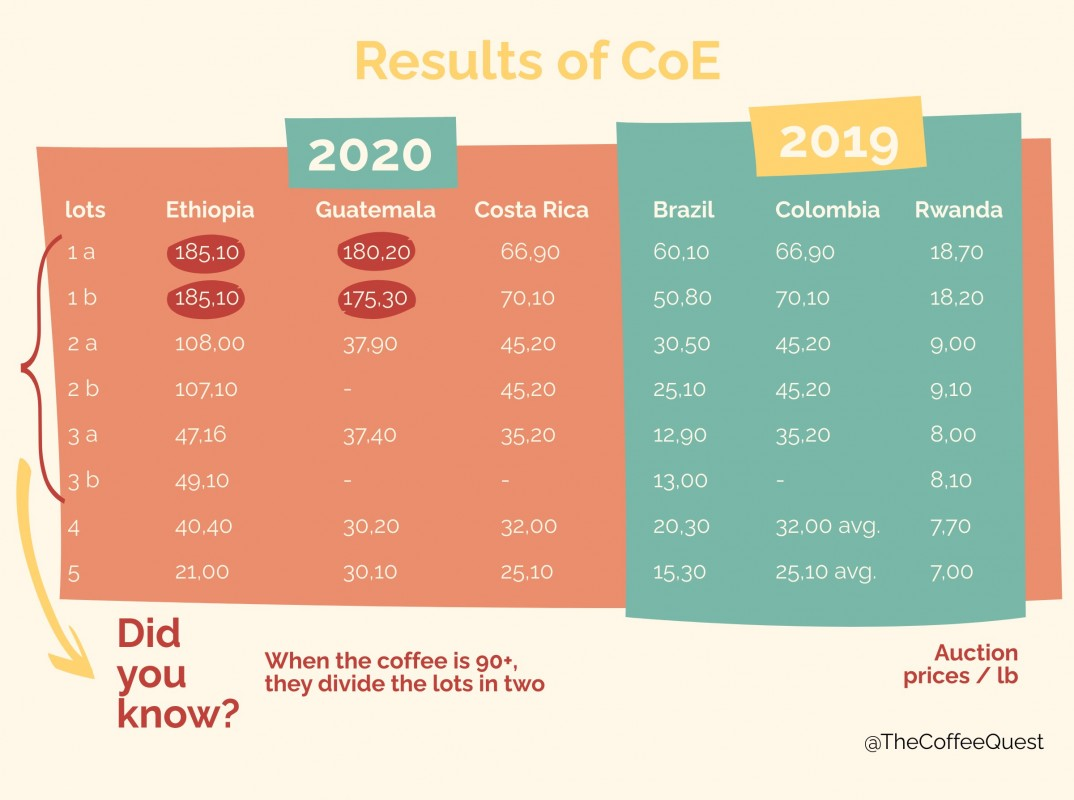cup of excellence infographics