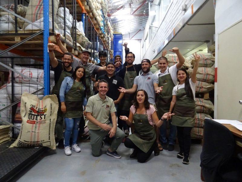 Medellín Mill team photo
